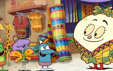 Image for Brown Bag Labs entry Travel Around the World with Let's Go Luna! Season Two on PBS KIDS