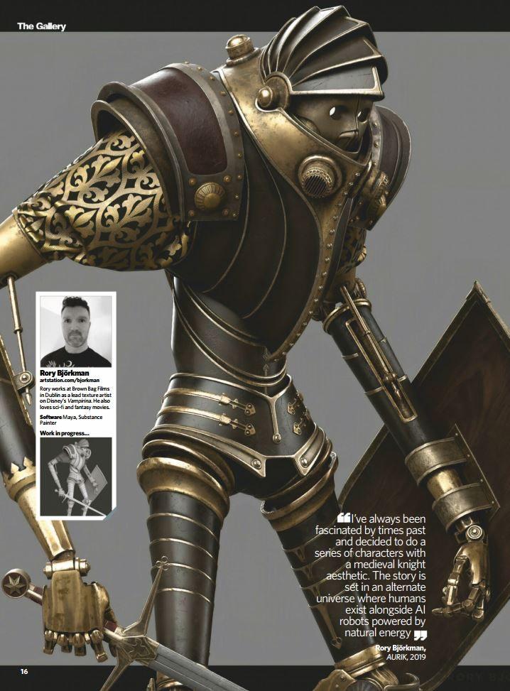 3D Artist Magazine Issue 131 -