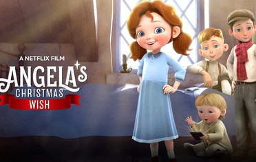 "Image for Brown Bag Labs entry First Look at ""Angela's Christmas Wish"" Is Here! #Trailer"