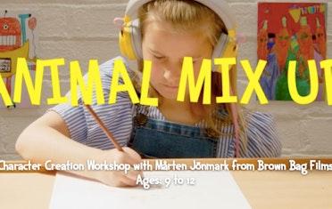 Image for Brown Bag Labs entry Animal Mix-Up Character Creation Workshop with Mårten Jönmark