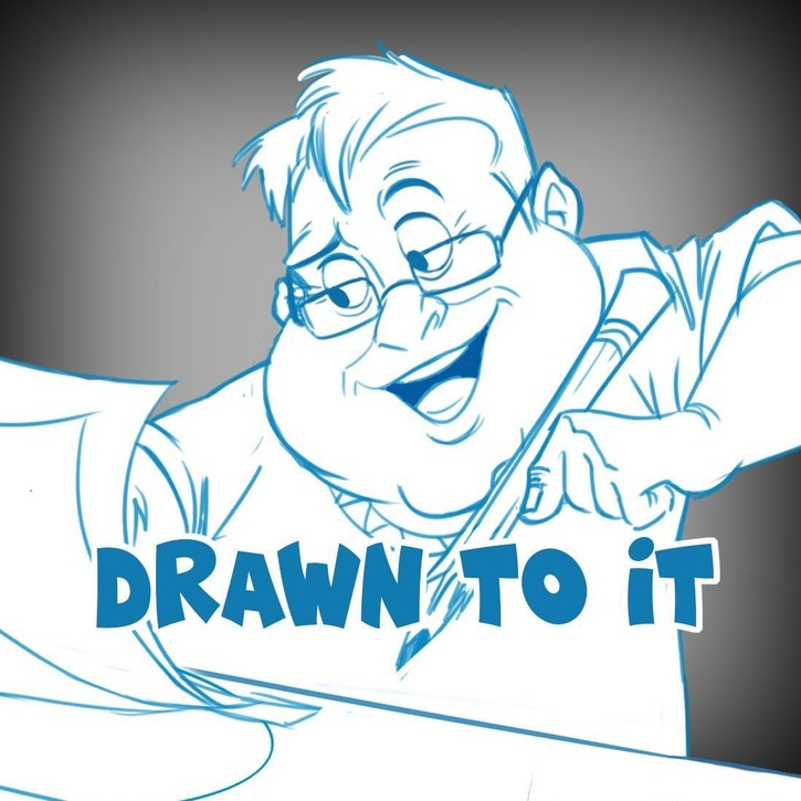Animation Podcast Drawn to It