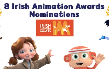 Image for Brown Bag Labs entry 8 Irish Animation Awards Nominations!