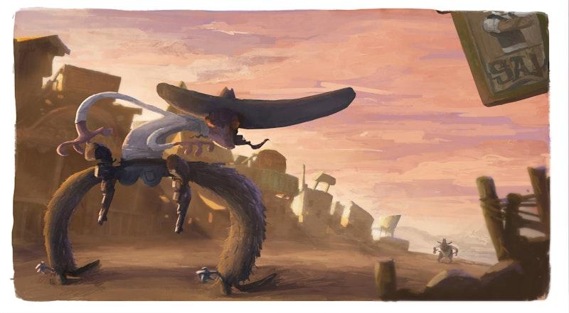 Cowboy by Senior Development Artist Barry O'Donoghue