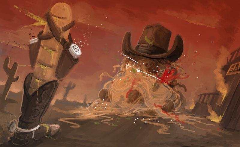 Spaghetti Western by Animation Director Gary Ronaldson