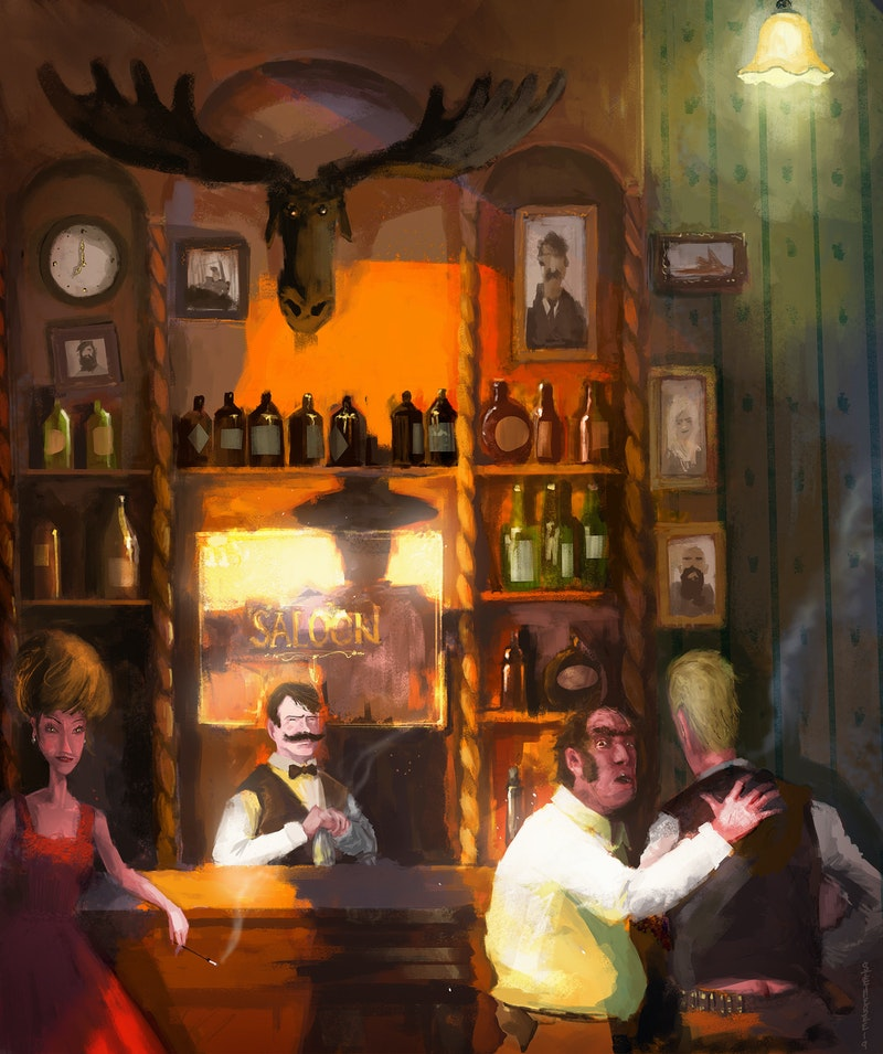 The Saloon by Art Director Stephen O'Connor
