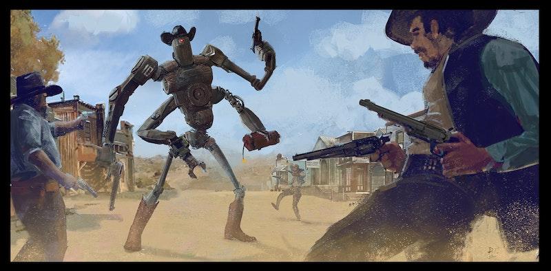 Western Arms by 2D Designer Danny Shiels