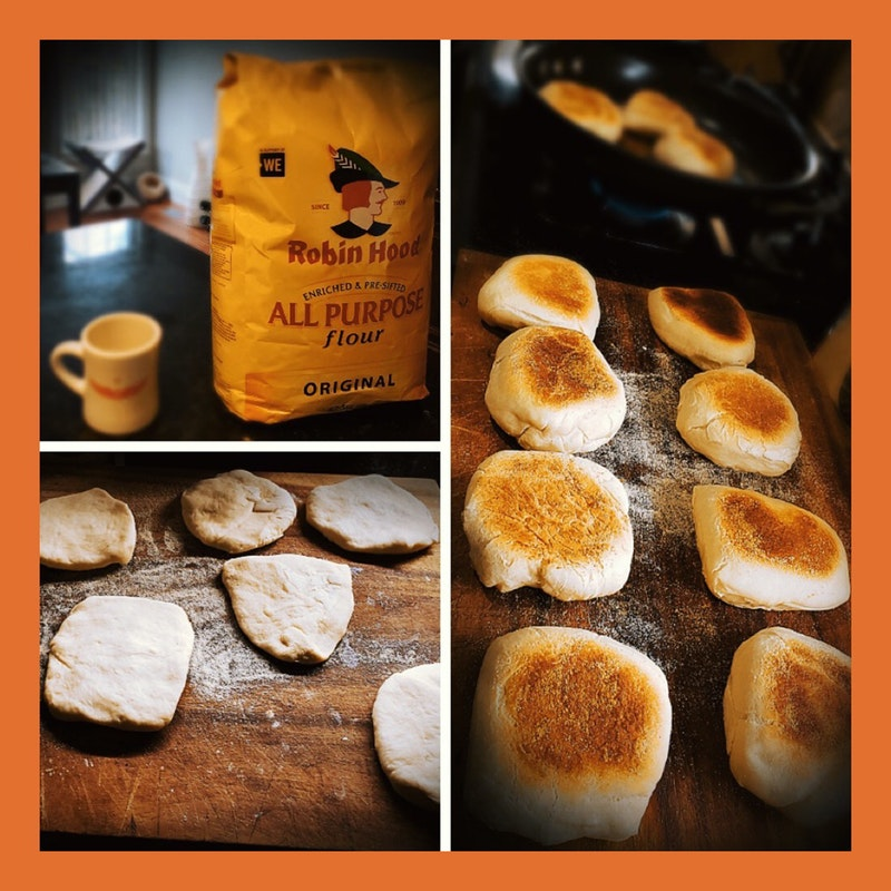 English Muffins from scratch by Craig Barnikis