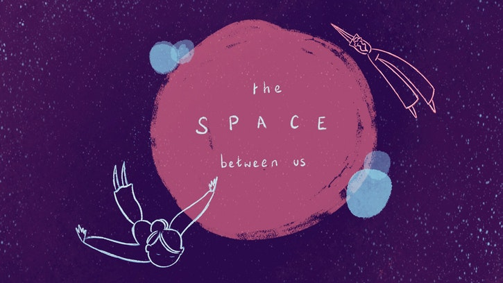 'The Space Between Us' by Dara Darcy