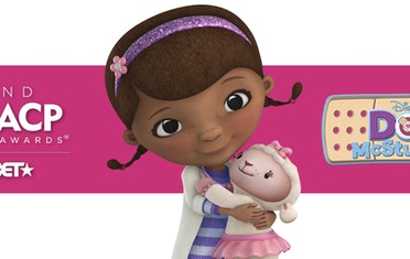 Image for Brown Bag Labs entry Doc McStuffins Wins at 52nd NAACP Image Awards!