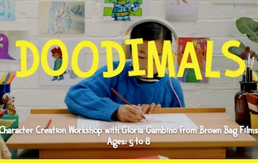 Image for Brown Bag Labs entry Doodimals! Character Creation Workshop with Gloria Gambino
