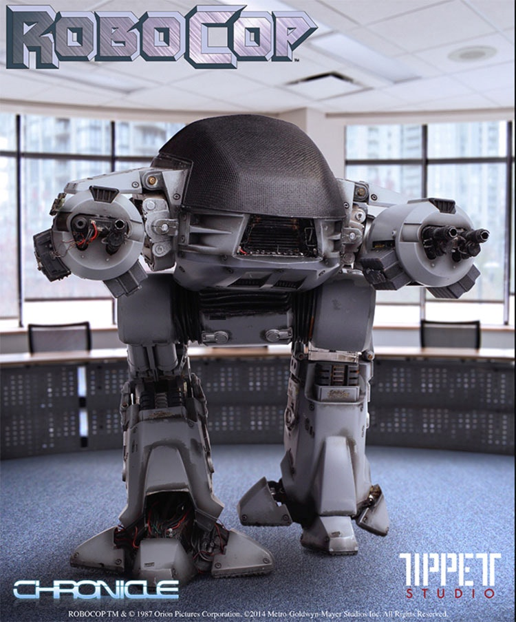 RoboCop directed by Paul Verhoeven (1987),  www.monstersinmotion.com