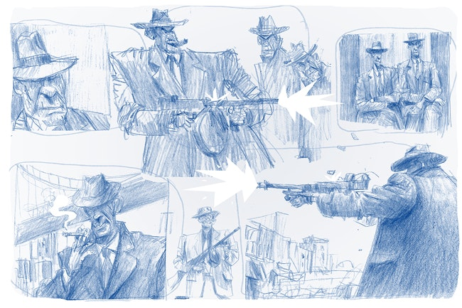 'Gangsters' by Senior Development Artist Barry O'Donoghue
