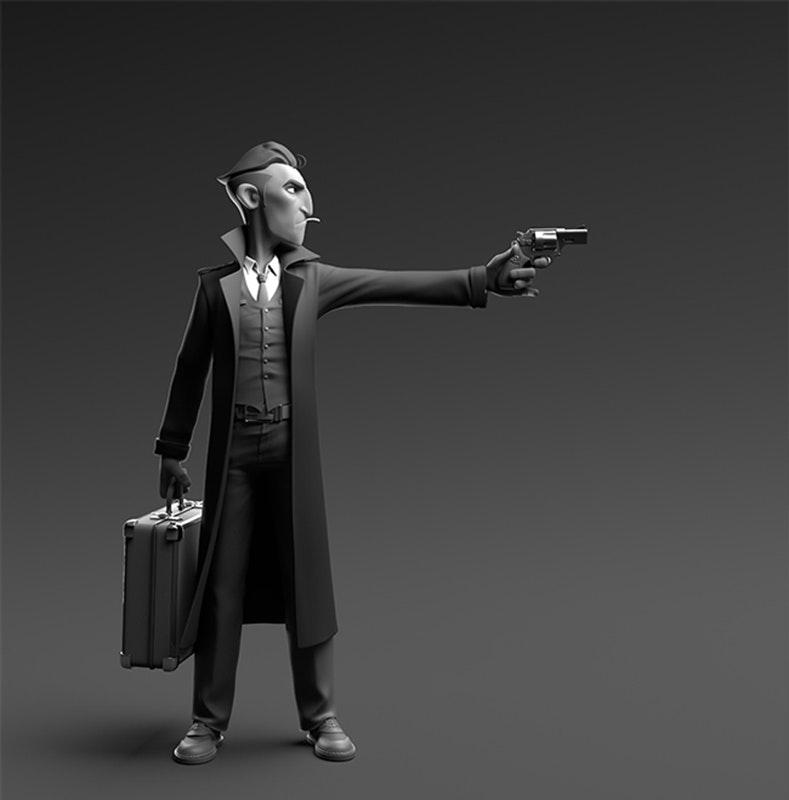 'Gangster' by Modeller Paul Deasy