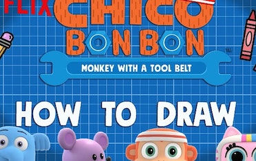 Image for Brown Bag Labs entry Chico Bon Bon Drawing Lessons!