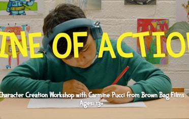 Image for Brown Bag Labs entry Line of Action Character Creation Workshop with Carmine Pucci