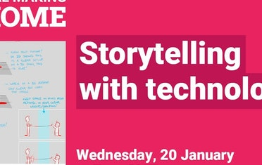 Image for Brown Bag Labs entry Storytelling with Technology Livestream