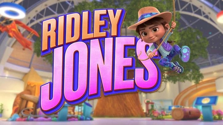 Ridley Jones animated series poster