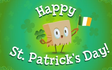 Image for Brown Bag Labs entry Happy St. Patrick's Day 2021!