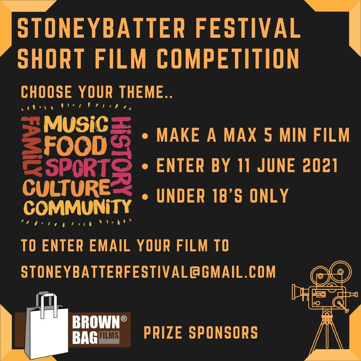 Image for the Stoneybatter Festival Short Film Competition