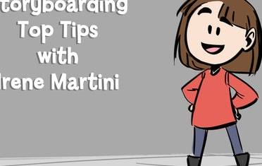 Image for Brown Bag Labs entry Storyboarding Top Tips with Irene Martini #Tutorial