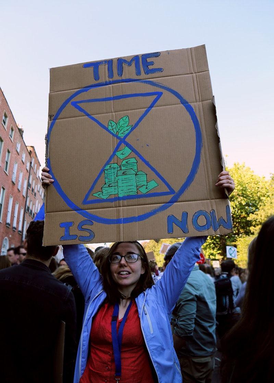 Climate Strike March in Dublin