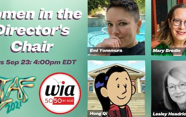 Image for Brown Bag Labs entry Coming Up: OIAF Women in the Director's Chair Panel - Featuring Hong Qi
