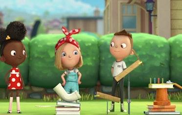 Image for Brown Bag Labs entry Meet Brainy Besties: Ada Twist, Iggy Peck & Rosie Revere!