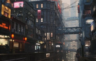 Image for Brown Bag Labs entry 3dTotal Article: Create an Atmospheric Sci-Fi City